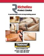 Richelieu and Titebond Glues: A partnership with strong holding power.