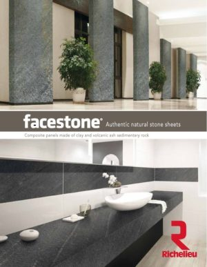 facestone® Authentic natural stone sheets