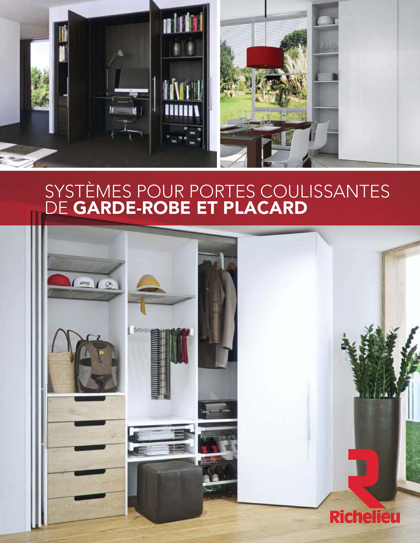 Librairie des catalogues richelieu syst mes pour portes - Garde robe porte coulissante belgique ...