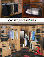 Closet Accessories - Chrome, Oil-rubbed bronze, Satin nickel