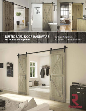 Sliding Door Systems and Rolling Ladders - Richelieu Hardware