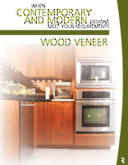 Wood Veneer - Custom-made Cabinet Doors