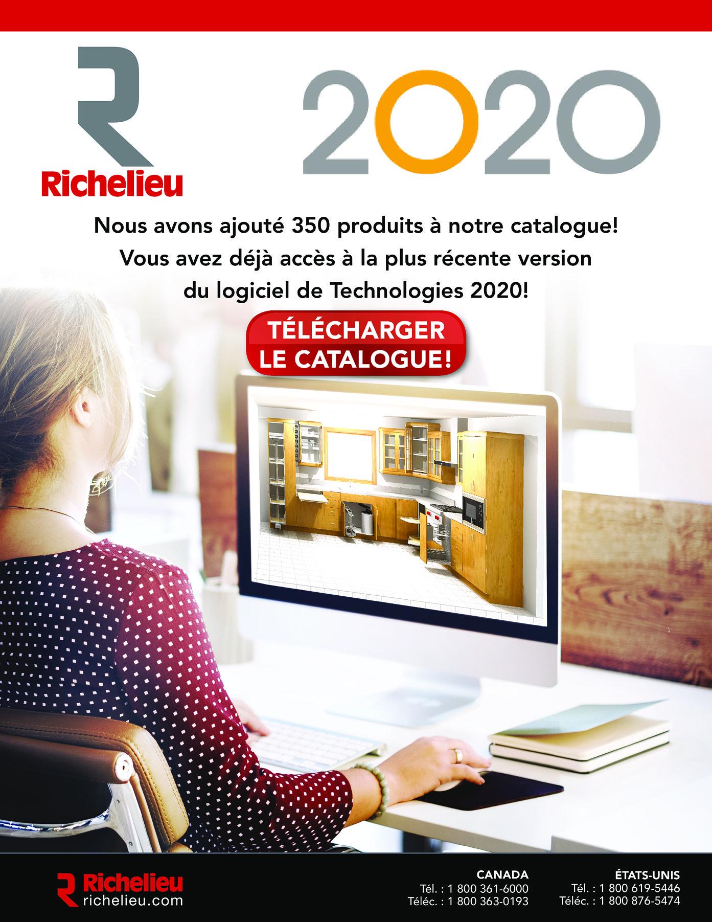 librairie des catalogues richelieu catalogue 2020 page 1 quincaillerie richelieu. Black Bedroom Furniture Sets. Home Design Ideas
