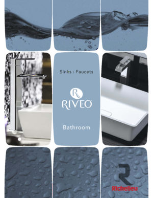 RIVEO - Bathroom Washbasin and faucets
