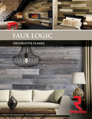 Faux Logic - Decorative planks