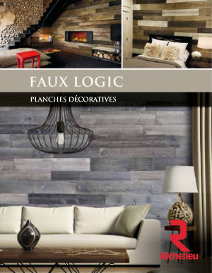 Faux Logic - Planches décoratives