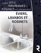 Éviers, lavabos et robinets