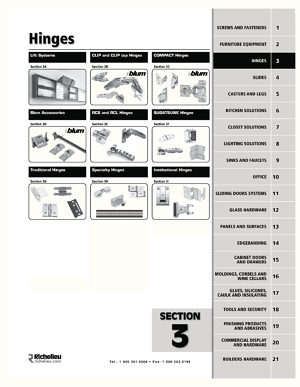 TIP-ON long version for doors - Richelieu Hardware