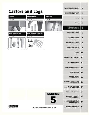 patte de meuble d corative en abs 452 quincaillerie richelieu. Black Bedroom Furniture Sets. Home Design Ideas