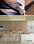 Veneer sheets and edgebanding