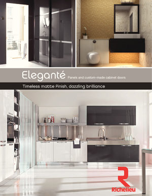 ELEGANTÉ Panels and custom-made cabinet doors