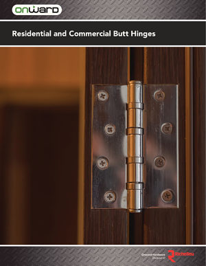 Residential and Commercial Butt Hinges