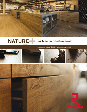 NATURE PLUS de Cleaf - Surface thermostructurée
