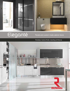 Eleganté Cabinet doors and panels