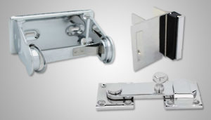 bathroom partition hardware - richelieu hardware