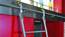 Stainless Steel Sliding Ladders