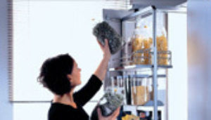 Dispensa Swing Kits in Pull out and revolving pantry Systems