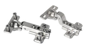 Pre-mounted Hinges with Mounting Plates