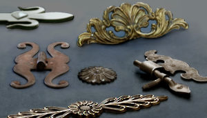 Decorative Accessories for Furniture, Cremones, and Bolts