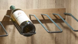 Angled Wine Bottle Holder