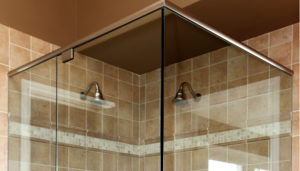 Headers and Finishing Profiles for Glass Showers