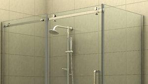Sliding Shower Door Hardware Kits & Components for Frameless Shower Hardware Assembly - Richelieu Hardware