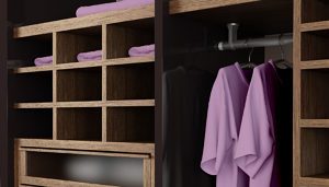 Hanging System for Closets and Upper Cabinets