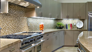 Cabinet Doors - Stainless Steel