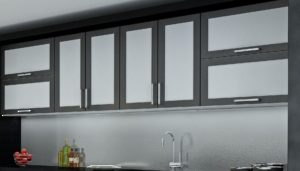 Cabinet Doors On Cabinet Doors Aluminum Framed Richelieu Hardware