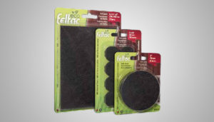 ECO FELTAC® Heavy-Duty Recycled-Fiber Felt Pads