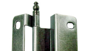 Standard Face Frame Wraparound Hinges with Decorative End