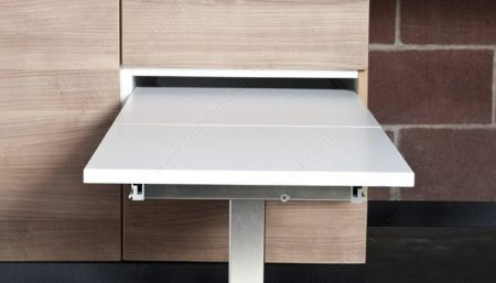T Bench in a base cabinet