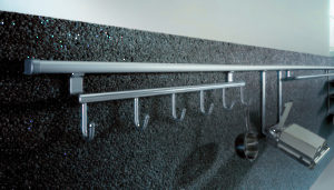 Backsplash Railing System