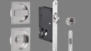 Handles and Locks for Sliding Doors