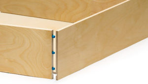 Ready-to-Assemble Drawers - Dowel Assembly