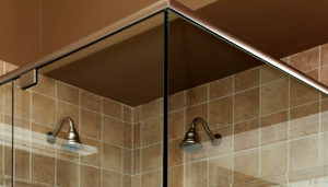 Headers, Components and Finishing Profiles for Glass Showers