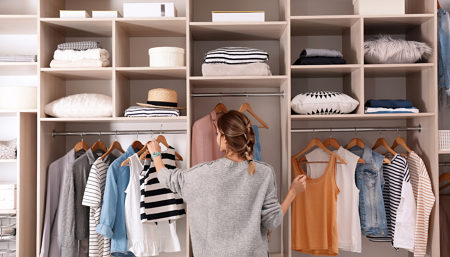 How to Organize Closets with Style