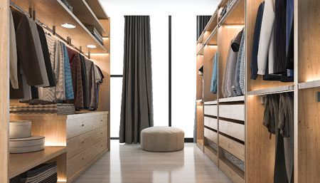 Good Closet Lighting is Always In Style