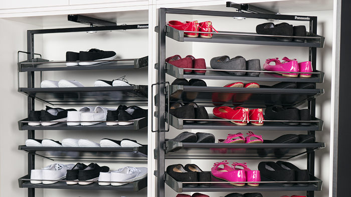 Panasonic Revolving Shoe Rack
