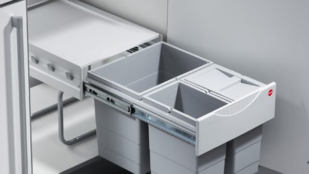 See our under-sink waste and recycling system