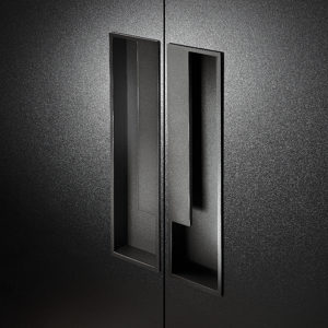 Contemporary Metal Recessed Pull - MN10/24