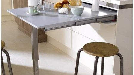 T-ABLE XL - Concealed Sliding Table Mechanism