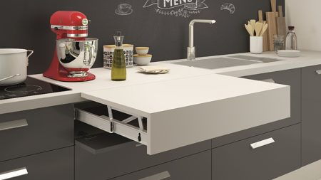 OPLA-TOP - Countertop Extension Mechanism