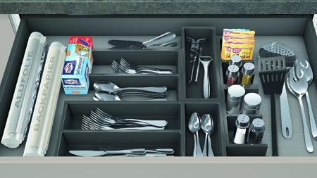 CONNECT - Modular Cutlery Divider System