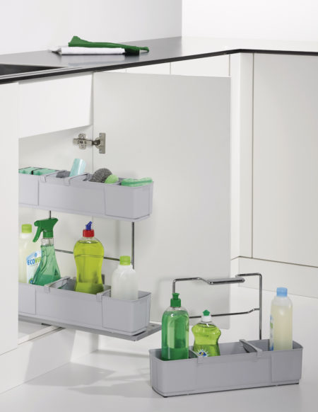 NETO - Pull-Out Baskets for Cleaning Products