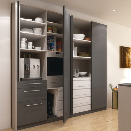 HAWA Concepta 25 - Pivot and Slide-In Pocket Door System