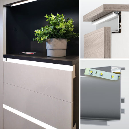 GOLA integrated cabinet profiles