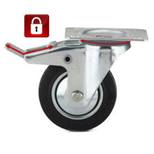 Swivel with Double-Lock Brake