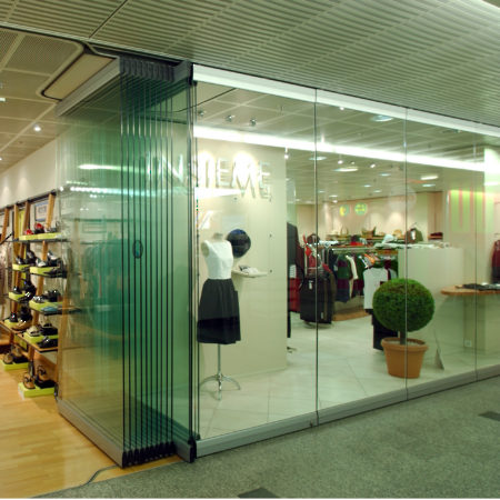 Movable Glass Wall