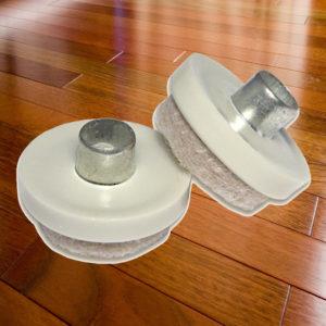 patins de patte de meuble quincaillerie richelieu. Black Bedroom Furniture Sets. Home Design Ideas